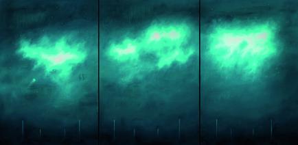 4-Medusa y nebulosas-2014-cm150x300 trittico-olio su tela copia